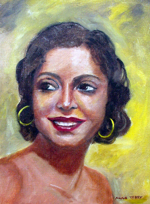 7. Rosita Garcia Painting by Alice Terry, image courtesy of Rick Spector