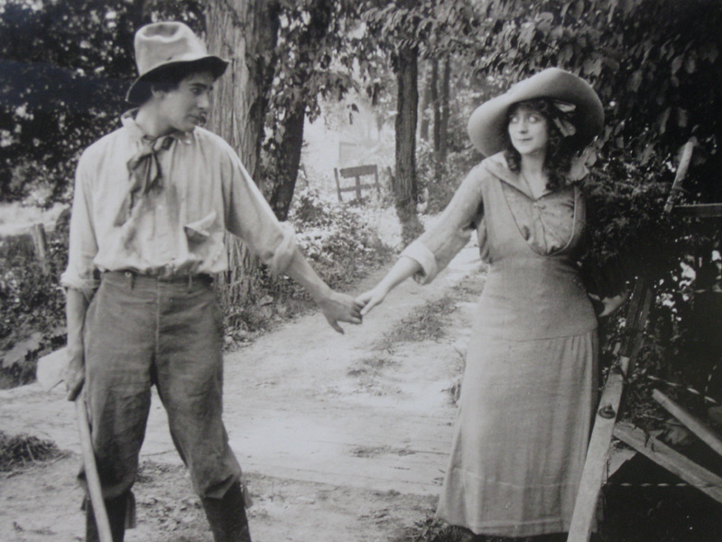 in The Moonshine and the Maid, 1914