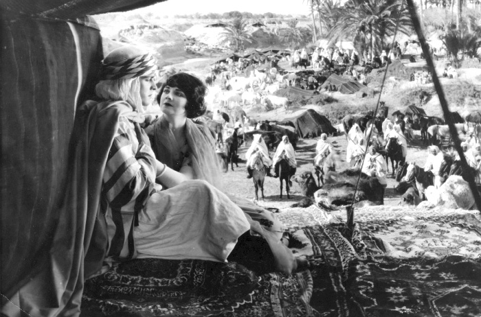 36 Alice Terry and Ramon Novarro in The Arab, 1924