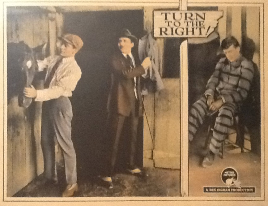 18 Turn to the Right lobby card. Courtesy of Bill Grantham