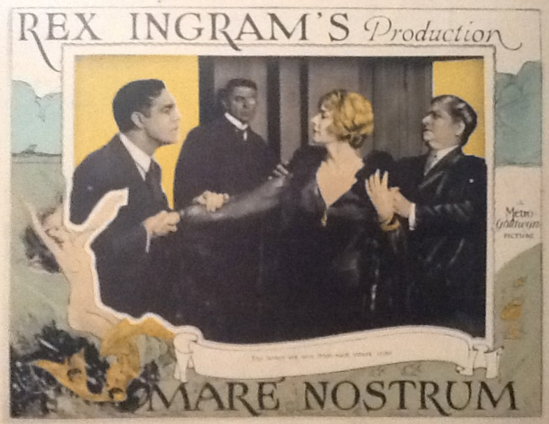 Mare Nostrum lobby card, courtesy of Bill Grantham