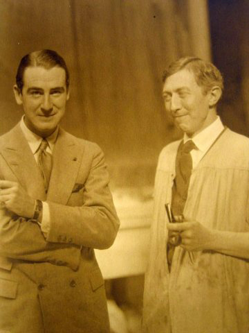 Rex Ingram with Lee Lawrie